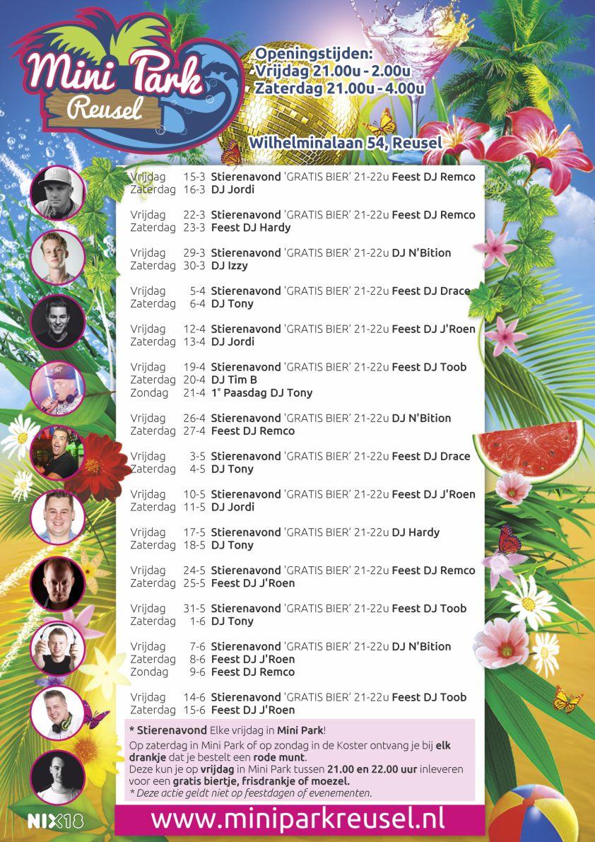 Programma Mini Park vanaf 15 maart 16 juni 2019 versID